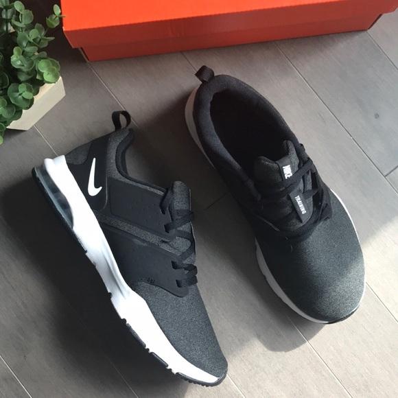 Nike Air Bella Black and Grey Running Sneakers